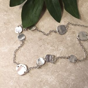 Cookie Lee Silver chain necklace